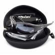 Тактичні окуляри Daisy X7. 4 лінзи. Репліка із захисними характеристиками оригіналу. Чорні